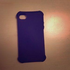 Accessories - Classic iPhone 4 purple case.